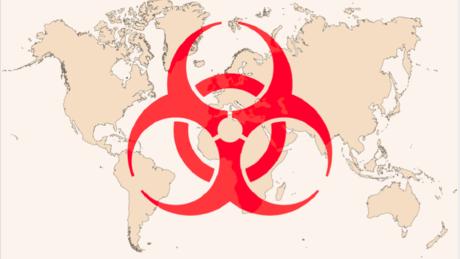 disease surveillance map