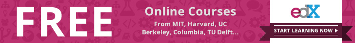 Online Courses from MIT, Harvard, UC Berkeley, Columbia, TU Delft...