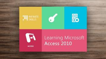 Microsoft Access 2010 Tutorial - Learn At Your Own Pace course image