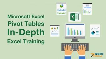 Microsoft Excel Pivot Tables - In-Depth Excel Training course image