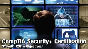 CompTIA Security+ Certification - SY0-401 (2014 Objectives) course image