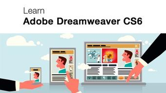 Learn Adobe Dreamweaver CS6 - For Absolute Beginners course image