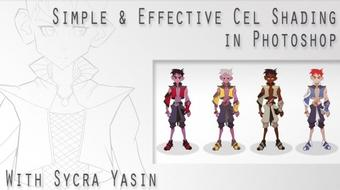 Learn Simple & Effective Cel Shading in Photoshop with Sycra course image