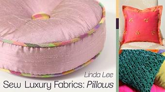 Sew Luxury Fabrics: Pillows course image