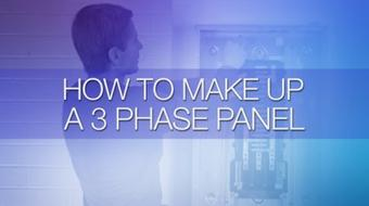 How to Make Up a 3 Phase Panel course image