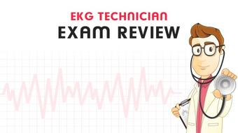EKG Technician Certification Exam Review course image