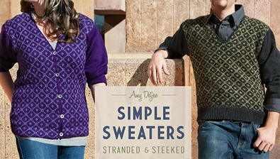 Simple Sweaters: Stranded & Steeked course image