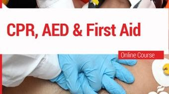 CPR,  AED and First Aid course image