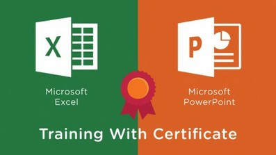 Microsoft Excel and PowerPoint Training With Certificate course image