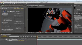 Up and Running with CINEMA 4D Lite for After Effects course image
