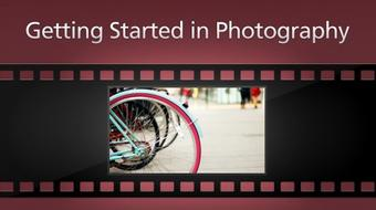 Getting Started in Photography course image