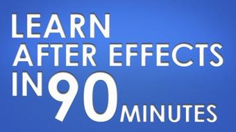 Learn After Effects in 90 Minutes course image
