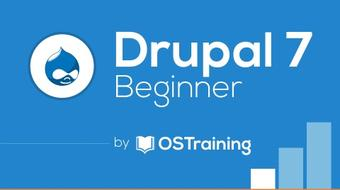Drupal 7 for Beginners course image