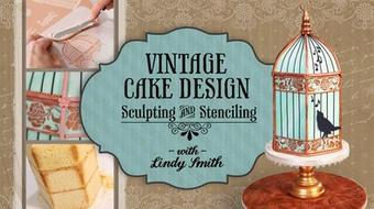 Vintage Cake Design: Sculpting & Stenciling course image