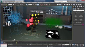 Up and Running with Particle Flow in 3ds Max course image