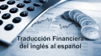 Traducción Financiera del Inglés al Español course image
