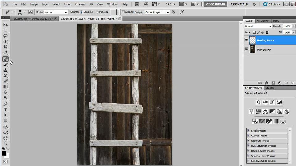 Photoshop Image Cleanup Workshop course image