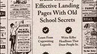 Web Design and Copywriting: Build Insanely Effective Landing Pages With Old School Secrets course image