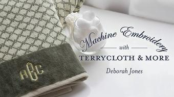 Machine Embroidery With Terrycloth and More course image