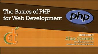The Basics of PHP for Web Development course image