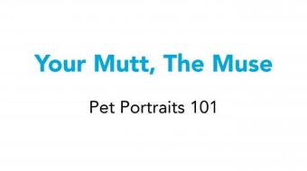 Your Mutt, the Muse: An Introduction to Illustrated Pet Portraits course image