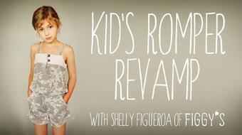 Kid's Romper Revamp: Creative Pattern Adapting course image