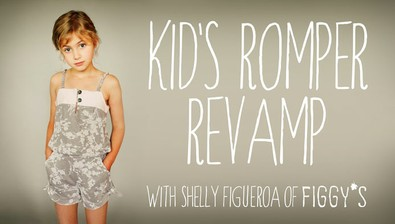 Kid's Romper Revamp: Creative Pattern Adapting course image