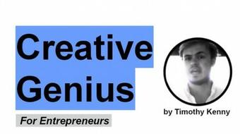 Creativity: Creative Genius for Entrepreneurs course image