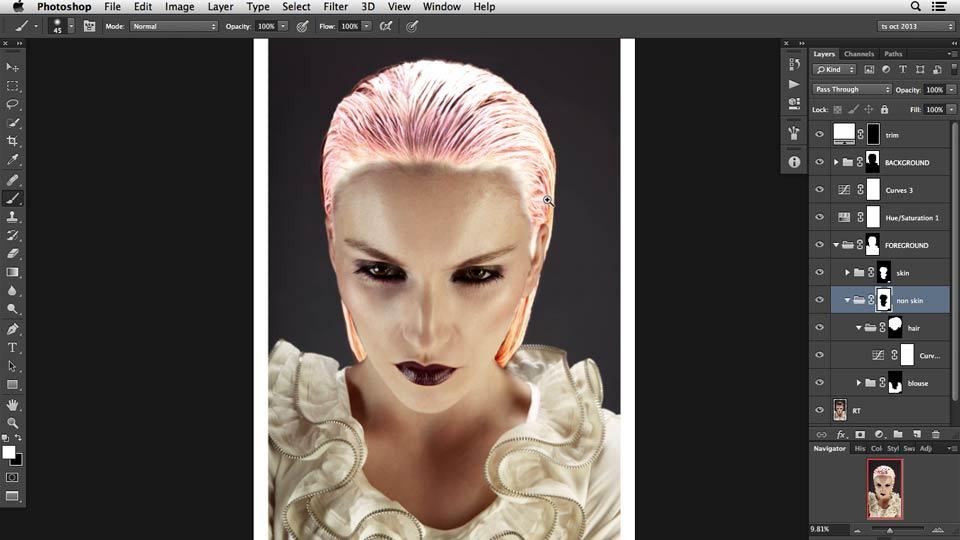 Photoshop Retouching Techniques: Hair course image
