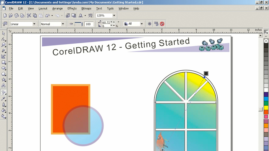 Lynda - Getting Started with CorelDRAW Graphics Suite 12