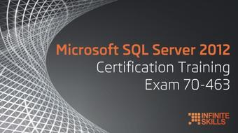 Microsoft SQL Server 2012 Certification Training Exam 70-463 course image