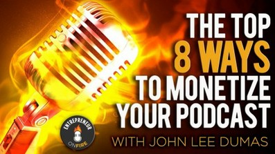 Podcast: The top 8 ways to monetize by Podcasting course image