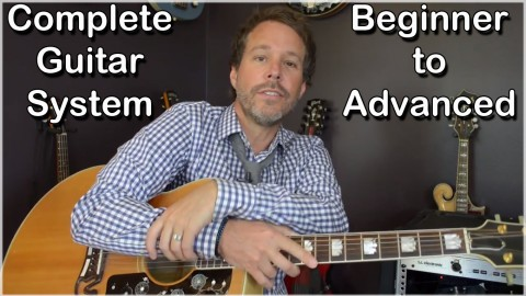 Complete Guitar System - Beginner to Advanced course image
