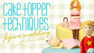 Cake Topper Techniques: Figure Modeling course image