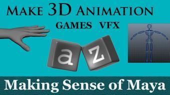 Make 3D Animation, Games, VFX - Making Sense of Maya course image