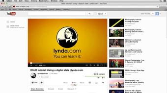 YouTube Essential Training course image
