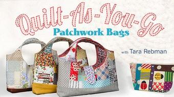 Quilt-As-You-Go Patchwork Bags course image