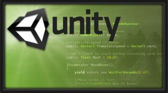 Intro to C# Programming and Scripting for Games in Unity course image