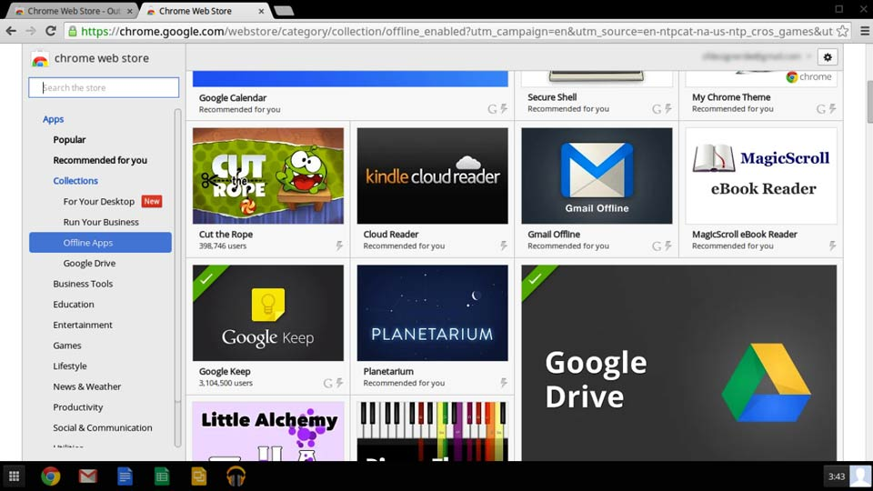 Up and Running with Chrome OS course image