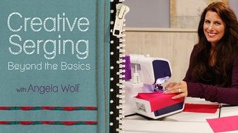 Creative Serging: Beyond the Basics course image