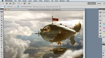 Photoshop Artist in Action: Uli Staiger's Airship course image