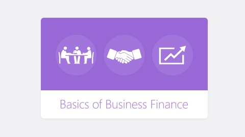 Basics of Business Finance course image