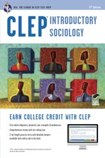 CLEP® Introductory Sociology Book + Online course image