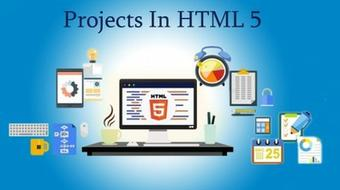 Projects in HTML5 course image