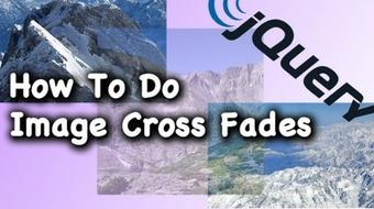 How To Do JQuery Image Cross Fades course image