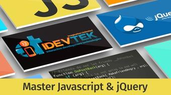 Master Javascript & jQuery course image