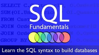 Microsoft SQL Database Fundamentals course image
