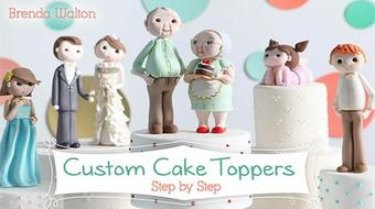 Custom Cake Toppers: Step by Step course image