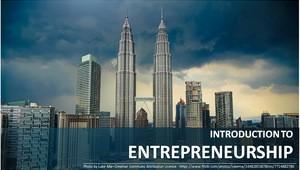 Introduction to Entrepreneurship course image