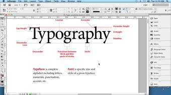 InDesign Typography course image